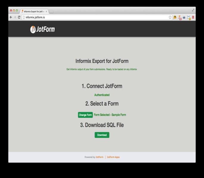 IBM Informix Export_5