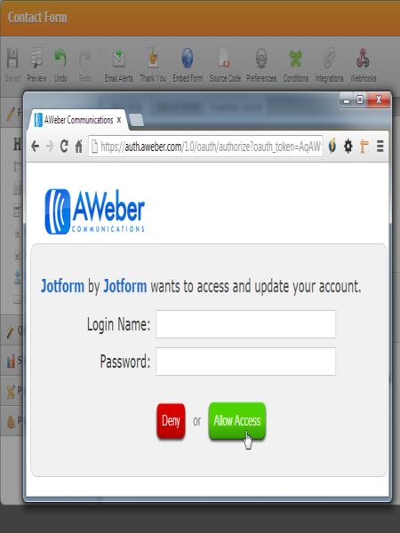 AWeber Integration_3