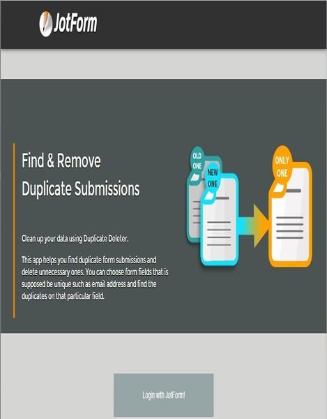 Duplicate Submissions Terminator_0