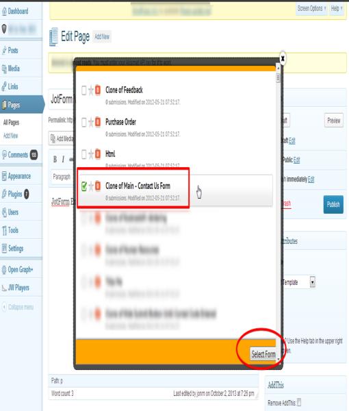 Wordpress Embed Form_4