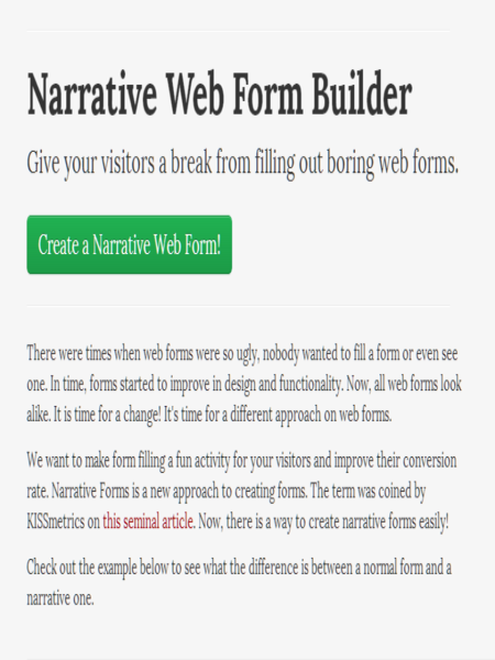 Narrative Web Form Builder_0