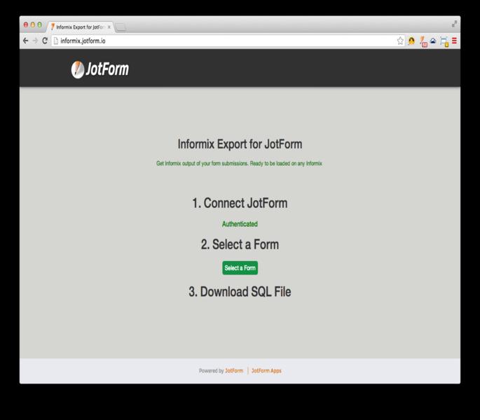 IBM Informix Export_3