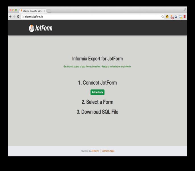 IBM Informix Export_0