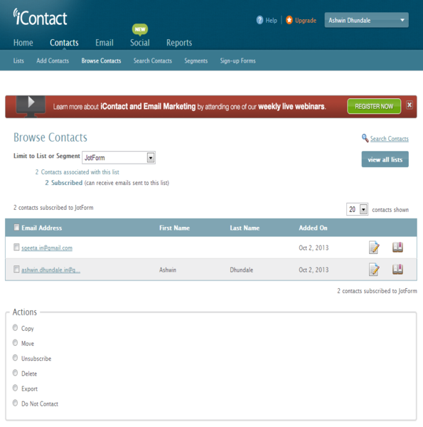 iContact Integration_9