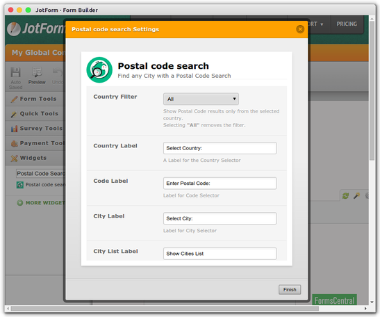 Postal Code Search_3