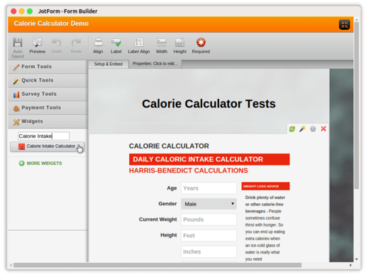 Calorie Intake Calculator_5