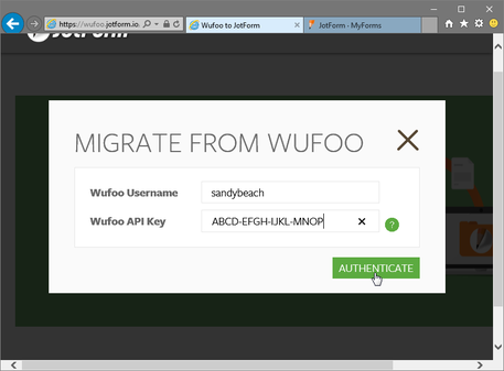 Migrate from Wufoo™_2
