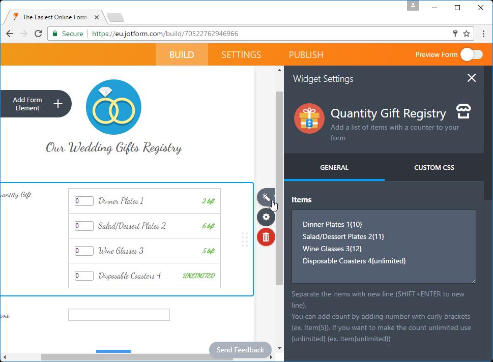 Quantity Gift Registry_8