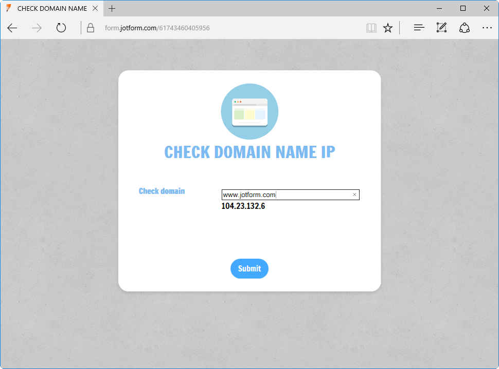 Simple Domain Whois Checker_1