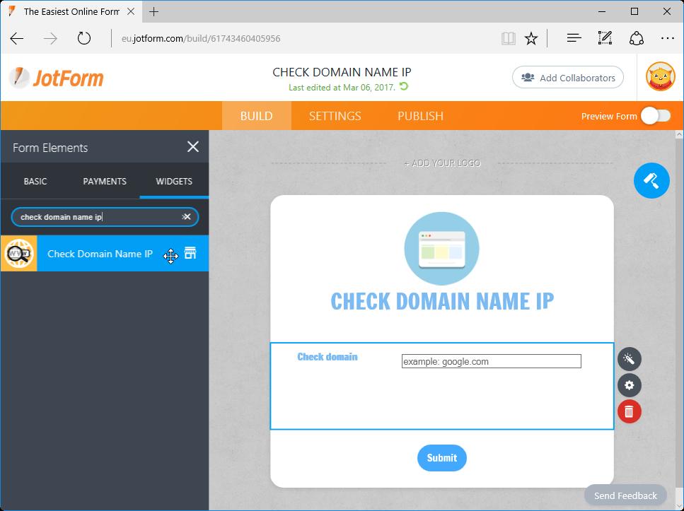 Check Domain Name IP_2