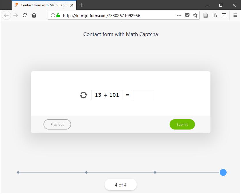 Math Captcha_0