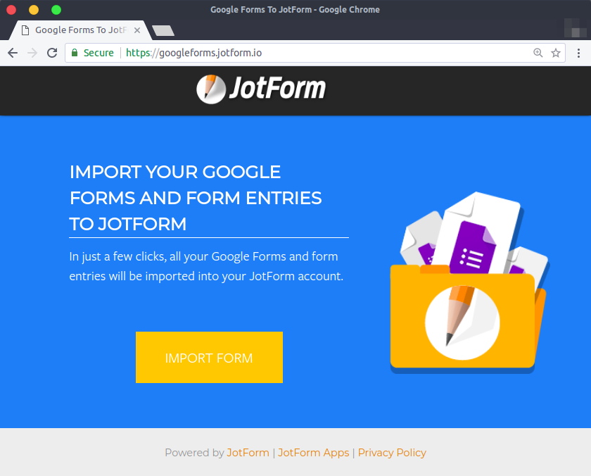 Import Google Forms_0
