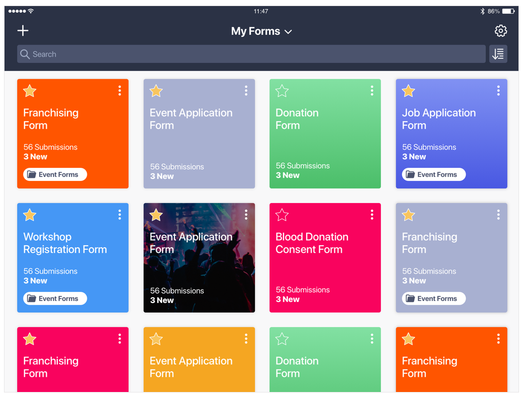iOS - JotForm Mobile App_4